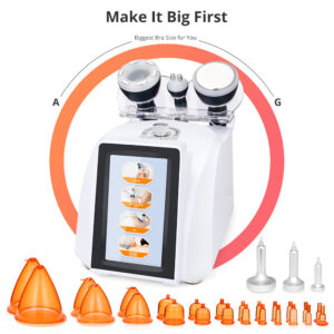 4 in 1 Radio Frequency with Vacuum Suction Cupping